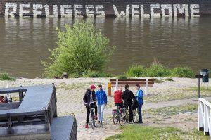 Refugees Welcome Nijmegen | Foto © Henk Beenen